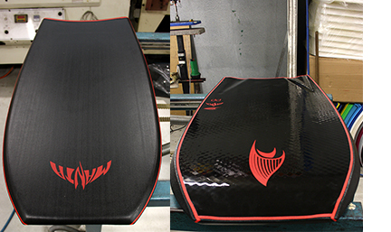 Black TFX Bodyboard